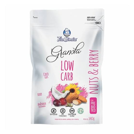 Low Carb Nuts e Berry