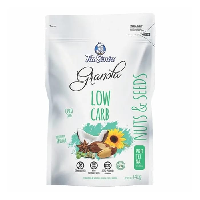 Low Carb Nuts e Seeds